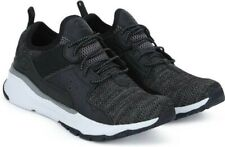 SKECHERS Men's Relven-Arkson Slip On Stretch Laced Trainers Athletic Shoe Black