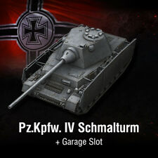 World of Tanks | WoT | Bonus Code | Pz.Kpfw. IV Schmalturm | EU | PC