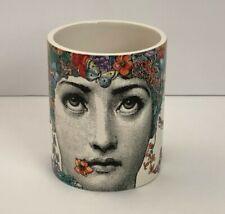 Fornasetti Profumi Flora Ceramic Candle Holder Jar