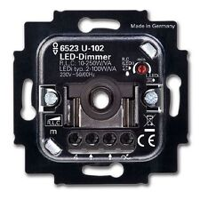 Busch Jaeger 6523 U-102 Busch-Dimmer für LED 2 - 100W/VA