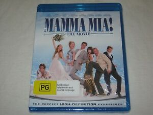 Mamma Mia - The Movie - Brand New & Sealed - Region B - Blu Ray