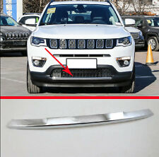 ABS Chrome Front Bumper Cover Trim For Jeep Compass 2017 2018