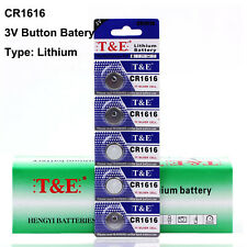 5pcs CR1616 1616 DL1616 BR1616 ECR1616 5021LC L11 3V Cell Coin Button Battery