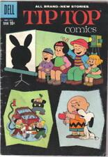 Tip Top Comics Comic Book #219 Dell 1960 Peanuts Story FINE-