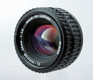 Nikon EL-Nikkor 50mm 2,8 Objektiv + Fungus 2220389