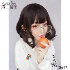 Brown Harajuku Kawaii Short Lolita Sweet Dolly BOBO Curly Hair Wig