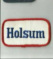 Holsum Bread Grocery Store employee/driver adveetising patch 2 X 3-3/8 #7417