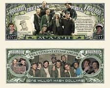 M.A.S.H. Million MASH Dollar Bill Collectible Fake Play Funny Money Novelty Note