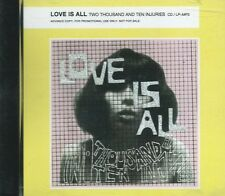 LOVE IS ALL - TWO THOUSAND AND TEN INJURIES 3rd ALBUM SWEDISH ECLECTIC POP CD