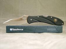 Couteau Spyderco Centofante III 3 Acier VG10 Manche Zytel Made In Japan SC66PBK3