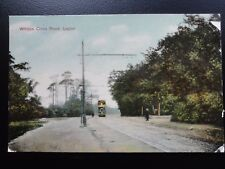 Wantsead Leytonston WHIPPS CROSS ROAD & TRAM Leyton c1909 by G. Baulch of Leyton