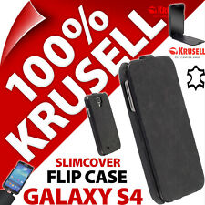 Krusell Slimcover GENUINE LEATHER Flip Case for Samsung i9500 Galaxy S4 IV