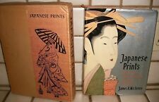 Japanese Prints from Early Masters to the Modern James Michener 1st Edition 1959