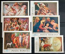 Romania – 1968 Religious Paintings P.Set – UM (MNH) (Se1)
