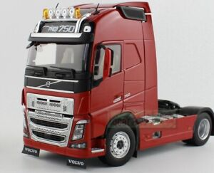 1/32 MARGE MODELS VOLVO FH16 4x2 Heavy Duty Truck Tractor 750 Red Diecast
