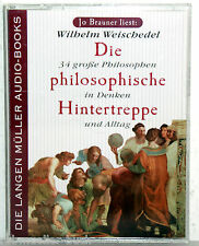 Wilhelm Weischedel - DIE PHILOSOPHISCHE HINTERTREPPE - Jo Brauner liest