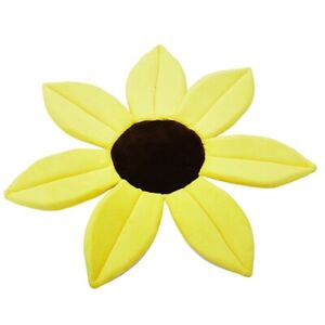 Newborn Bathtub Blooming Bathroom Child Flowering Baby Play Pilow Sunflower Mat