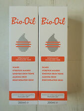 Bio Oil Specialist Skincare For Scars Stretch Marks Dehydrated Skin 200ml x2
