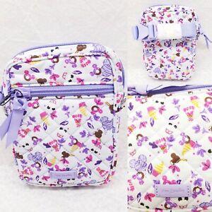 Vera Bradley Disney Sweet Treat Ditsy Small RFID Convertible Crossbody Bag NWT