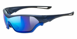UVEX Sportstyle 705 Sunglasses - Premium PC Mirror Shield Lens - Bonus Lens Incl