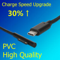 1.5M Fast Charging Data Type C Charge Cable For Microsoft Surface Pro 3/4/5/6