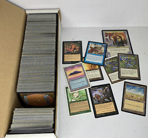 Lot Of 400+ Magic The Gathering Card MTG Cards Used