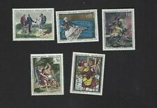 France sc#1049-51,1054-5 (1962-3) Complete MNH