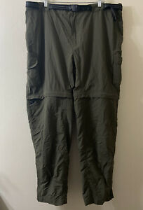 Magellan Men's 3XL Green Convertible Fish Gear Pants Zip