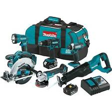 Makita XT610 18V LXT Lithium_Ion Cordless 6_Pc. Combo Kit (3.0Ah)