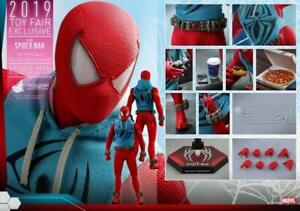 Hot Toys 1/6 VGM34 Marvel's Spider-Man Scarlet Spider Suit Figure Collectibles