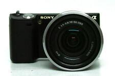 USATO Sony Alpha NEX-5 fotocamera digitale 14.2MP - Nero (Kit con Obiettivo 18-55 mm)