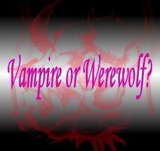 Extreme 3 Day Casting~ CUSTOM VAMPIRE Or WEREWOLF~ PLUS TRANSFORMATION CORE BEAD