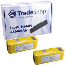 2x Hochleistungs Akku 4500mAh 14,4V/14,8V für Agait e-clean eclean EC01 EC-01