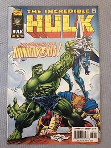 INCREDIBLE HULK #449 KEY 1ST Appearance of THE THUNDERBOLTS MARVEL 1997