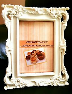 Shabby Chic Vintage Antique Ornate Retro Wedding Placecard Photo Frame Gift