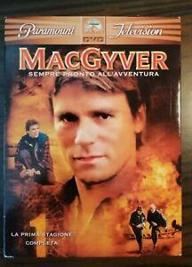 Collezione Cofanetto Dvd Mac Gyver Prima Stagione
