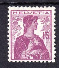 Switzerland - 1909 Definitive Helvetia - Mi. 116 MH