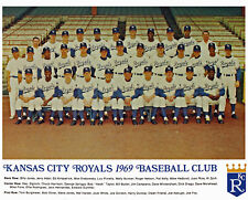 1969 KC Royals - 8x10 Color Team Photo