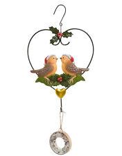 Goebel Weihnachtsboten Metallhänger Hänger Gartendeko aus Metall für Vogelfutter