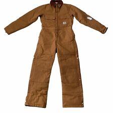 Mens Carhartt Overalls Duck Carpenter Quilted Double Knee Boiler Suit Workwear