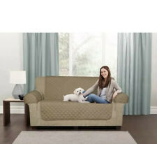 Maytex slipcover Loveseat Pet Cover 3 Piece Waterproof Quilted Suede Polyester