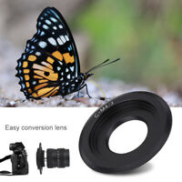 25mm F/1.4 Lens + C-m4/3 Adapter + Macro Ring for Olympus EPL5 EPM3 EPL7 OM-D