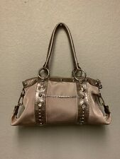 Kathy Van Zeeland Goldtone/Copper - Studs - Purse Shoulder Bag