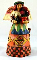 Jim Shore Angel Of Persistence Figurine Heartwood Creek Enesco #108920 Year 2002