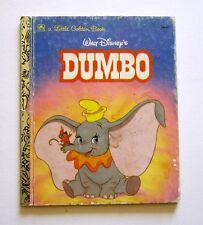 1988 Walt Disney's DUMBO A Little Golden Book Adated by Teddy Slater #104-67