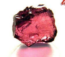 Large, Hot Pink Rhodolite Garnet Gem Facet Rough!