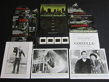 GODZILLA—1998 FILM PRESS KIT—3 PHOTOS/4 SLIDES