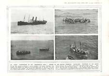 1915 Birkenhead Drill Anzac Aegean Torpedoed