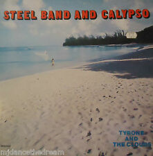 TYRONE & THE CLOUDS - Steel Band & Calypso ~ VINYL LP ISLANDS PRESS