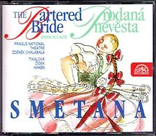 SMETANA: THE BARTERED BRIDGE Tikalova Zidek Chalabala 2CD Die verkaufte Braut
